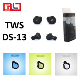Wholesale Green Earbuds - Super Mini Earbuds TWS DS-13 Twins Bluetooth Earphone Portable Mini Wireless Ear Bud Stereo Bluetooth EarBuds Bluetooth headset