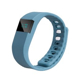 Wholesale Retail Displays For Watches - Retail Neoon TW64 smart wristband quick shipping sport heart rate monitor pedometer watch retail packaging 0.49 inch OLED display