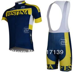 Wholesale Team Clothing Free Shipping - 2013 FESTINA Team Cycling Jersey Cycling Wear Cycling Clothing short (bib) suit-FESTINA-1B Free Shipping