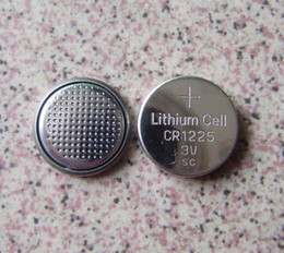 Wholesale Cr1225 Battery - 2000pcs Non-rechargeable watch battery CR1225 3V Lithium button cell batteries coin cells
