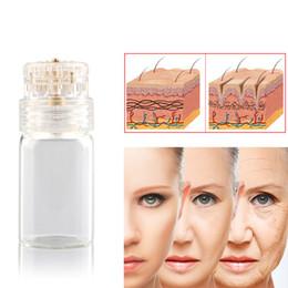 Wholesale Relief Glass - Portable Hydra Needles Micro Needles Applicator Glass Bottle Serum Injection into Skin Reusable Skin Rejuvenation Anti-Aging Microneedles