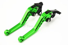 Wholesale Cbr F3 - 2pcs CNC Long&Short Adjuster Brake Clutch Levers For CB599 CB600 CBR 600 F2 F3 F4 F4i CB919 CBR900RR VTX1300 NC700 Free Shipping