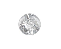 Wholesale Sew Buttons 25mm - New Fashion 50PCS Clear Acrylic Round Button Beads 25mm Sewing DIY