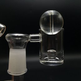 Wholesale Crystal Beads Caps - Quartz Reactor Core Banger Nail XL 25mm Bowl Domeless Banger Nails With Free Glass Beads Carb Cap 10mm 14mm 18mm Joint Dab Rigs