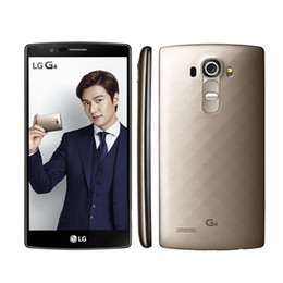 Wholesale Unlocked Lg Phones - Original Unlocked LG G4 H815 H810 H811 Hexa Core Android 5.1 3GB ROM 32GB 5.5 inch Cell Phone 16.0 MP Camera