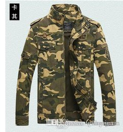 Wholesale Wide Cloth - High Quality ARMY camo print Jackets Outdoor actical Hiking Jacket Waterproof Windproof Sports for men cloth Free shipping