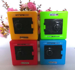 Wholesale Wholesale Plastic Boxes For Sale - Children Combination Code Safe Lock Piggy Bank Money Box For Saving Coins Cash Hot Sale For Gift