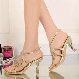Zapatos Fiesta Dorado Descuento De Color Distribuidores IYWED29H