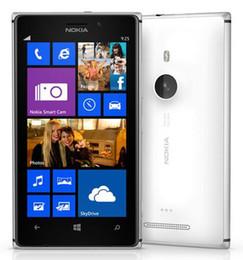 Wholesale dual windows - Refurbished Original Nokia Lumia 925 Unlocked Cell Phone Dual Core 1GB 16GB 8.7MP 4.5inch Windows 8 4G LTE