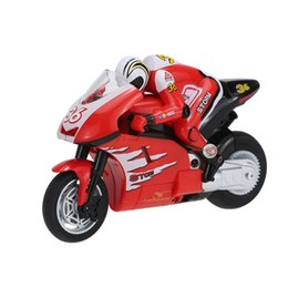 Wholesale Radio Control Stunt Car - Create Toys 8012 1 20 2.4 GHz Radio Controlled mini RC Motorcycle Super Cool Toy Stunt Car For Children Gift