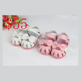 Wholesale Girls Summer Sandals - 2017 Summer children shoes child sandals male Kids sandals genuine leather child beach baby casual sandals