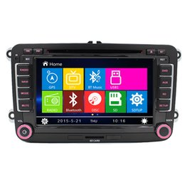 """Wholesale Chinese Din Gps - 2 Din Auto 7""""screen Built-in canbus Car DVD with GPS Navigation for VW JETTA PASSAT B6 CC GOLF 5 6 POLO Touran Tiguan Caddy SEAT"""