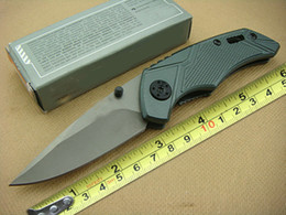 Wholesale Hunting Knife Gb - Hot Sale GB Bear X03 Folding Knives EDC Gear Full Steel Tiny Pocket Knives Popular Knife Hunting Knife Survival Knife Best Gift F395L