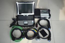 Wholesale Mercedes Obd2 Codes - 2107 for mercedes b enz obd2 connector sd c5+Laptop CF-19+2017 09 Software SSD obd 2 car diagnostic tools mb star c5 car tester