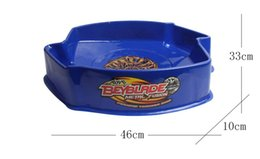 Wholesale Plastic Spinning Tops - TOP Sales Beyblade Metal Fusion Arena(10pcs Lot) Spinning Top Arena Beybalde Stadium