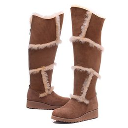 Wholesale Boots Chains For Women - 2016 Christmas Promotion Womens boots BAILEY BOW Boots 2014 NEW Snow Boots for Women