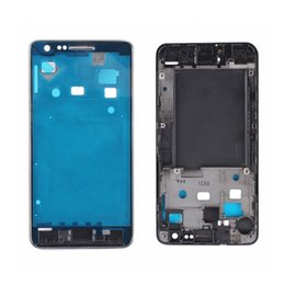 Wholesale Housing For Galaxy S2 - A quality For Samsung Galaxy S2 i9100 Middle Frame Housing Front A Faceplate Battery Chassis LCD Holder Frame Original AAAAA Quality By DHL