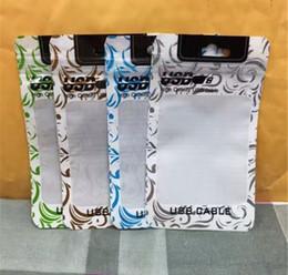 Canada Les sachets en plastique de vente au détail d'accessoires de trou de main emballent des boîtes d'emballage de PVC Poly OPP de fermeture à glissière de fermeture à glissière pour des câbles d'accessoires de téléphone portable Offre