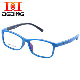 ac8461944d frame size 52 Promo Codes - Wholesale- DEDING Unbreakable Kids Silicone  Rectangle Flexible Glasses Frame