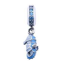 56a75b71445e perlas del seahorse Rebajas Caballito de mar tropical cuelga los granos del  encanto adapta Pandora pulsera