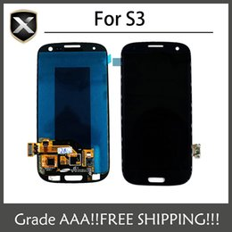 Wholesale Display Galaxy S3 Mini - Grade AAA+ For Samsung Galaxy s3 i9300 T999 i747 i535 i9305 LCD Display With Touch Screen&Free Shipping