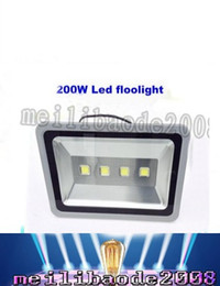 Wholesale Wall Wash Lights - Outdoor led floodlight 200W LED flood light Waterproof wash flood 85-265V street lamp Tunnel lights High brightness & Energy savin LLFA