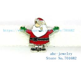 Wholesale Santa Bead Cap - 5pcs 8mm Christmas Santa Claus wholesales price Internal Dia.8mm fit 8mm wristband belt keychain dog collar bracelet SL430