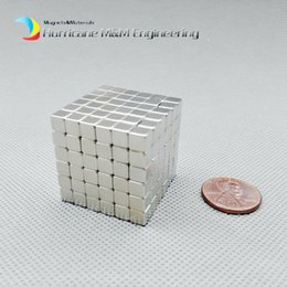 Wholesale neo magnets - 216 pcs 5x5x5mm Magic Cubes Neodymium Toy Neocube Neo Magic Puzzles Toy Cube Magnets Magnetic Bucky Blocks