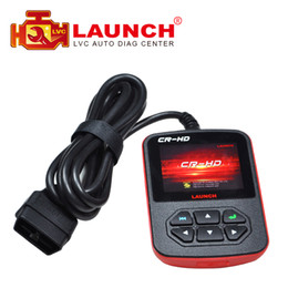 Wholesale Launch Cr Heavy Duty - Wholesale-2016 Newly 100% Original Launch CR-HD Truck Diagnostic tool Multi-language Launch CR HD heavy Duty Truck Code Reader Scanner