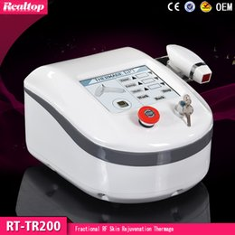 Wholesale Eyes Therapy Machine - 6 replacable Thermagic heads with cooling Thermage RF Skin Rejuvenation Fractional RF for Facial and Skin Lifting Beauty Machine