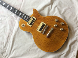 Wholesale Tiger 1959 - Slash 1959 Tiger Flame Mahogany Body Ebony fingerboard Electric Guitar