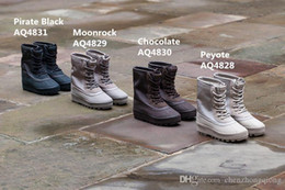 Wholesale Cheap Buckled Boots - Cheap Salel New West Moon Rock 2016 Summer Pirate Black 950 Boots Men And Women Coffee Brown Fashion Boots Size 5-11.5