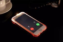 Wholesale Gel Mate - gel Flash Up Light Remind Lncoming LED Crashproof Clear Transparent Soft TPU Case For Huawei MATE 7 8 S 5X P9 For OPPO R9 Plus R7 R7S Plus