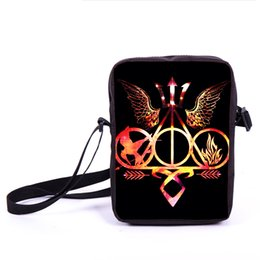 Wholesale Blood Handbag - Wholesale- Percy Jackson Camp Half Blood   Hunger Games   Divergent Mini Messenger Bag Women Handbags Men Cross Bag Children School Bags