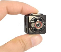 Wholesale Camera Digital Mini Infrared - HD 1080P 720P Mini digital video Camera SQ8 DV Voice Video Recorder Infrared Night Vision Digital Small Cam Hidden Camcorder