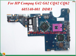 Wholesale Motherboard For Hp G62 - 605140-001 For HP Compaq G42 G62 CQ42 CQ62 Laptop Motherboard DA0AX3MB6C2 PGA478 DDR3 100% Tested&Testing Video Support