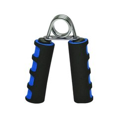 Wholesale Exercise Equipment For Gyms - Wholesale-2Pcs lot =1 pair professional Hand Grips for sports gym fitness exercise hand equipment Free Shipping