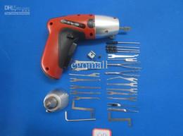 Wholesale Tubular Locks Sale - Hot Sale Lock pick, Electric lock Pick Gun, New cordless pick gun, auto locksmith tool from egomall S052