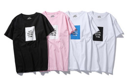 Wholesale Summer Cotton Shirts For Women - ANTI SOCIAL CLUB T-Shirt High Quality Printed letters summer of GD short-sleeved t-shirts for men and women teenager t-shirts