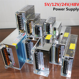 Wholesale Power Supply 24v 3a - Power Supply Transformer AC100-240V to DC5V 12V 24V 48V 1A 2A 3A 4A 5A 6A 8A 10A 15A 20A 30A 40A 50A 60A LED Strip Power Adapter