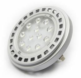 2019 taches blanches en plastique Livraison gratuite AR111 G53 30degree 15 W 1000-1150LM 12 VAC CRI80 SMD LED projecteur Warmwhite 3000 K blanc froid 6000 K en gros