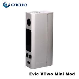 Wholesale Original Joyetech Evic - Original Joyetech Evic VTwo Mini Mod Temp Control Mod New eVic VTwo Mini TC 75W Mod RTC VW VT Bypass TCR modes
