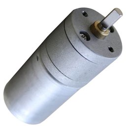 Wholesale High Torque Electric Motor 12v - RF-370 25mm 12V 258 RPM High Torque Gear Box Electric Motor - Small B00207