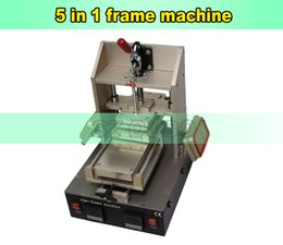 Wholesale Iphone Screen Remover - New Machine With Preheater For Craked iPhone Middle Bezel Splite Frame Laminating LCD Screen Separator Glue Remover