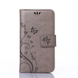 Mode Fleur Impression De Luxe PU Portefeuille En Cuir Flip Couverture Téléphone Case pour iPhone 4 4s avec des Fentes de Carte ? partir de fabricateur