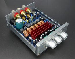 Wholesale Lm1875 Amplifier - Freeshipping New DP1 2.1 506 2*50W+100W Subwoofer Large Power Pure HIFI Aduio Digital Amplifier AMP Amplificador TPA3116D2 Surpass LM1875