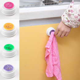 Wholesale Cloth Hand Towels - Wash Cloth Clip Holder Clip Dishclout Storage Rack Towel Clips Hooks Bath Room Storage Hand Towel Rack kitchen Tools LZ0467