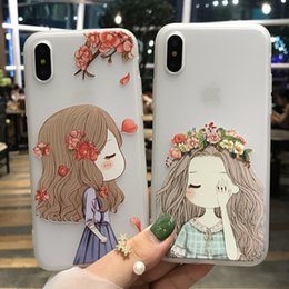 Wholesale Wholesale Silicone Phone Cases - For iphone X cell phone cases with iphone 8 plus 7 6s Mobile phone back protective cover ultra-thin matte silicone factory wholesale price
