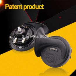 Wholesale Patent Car - Patent Product loud car claxon horn 12V car styling parts loudnes 110db waterproof dustproof Teflon coating technology car horn