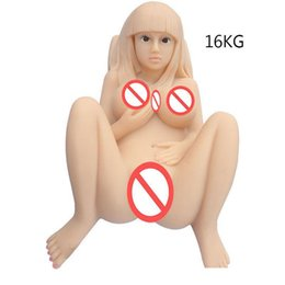 Wholesale Girl Ass - Japanese Silicone Full Size Sex Dolls For Men Sex Shop Vagina Girl Rubber Pussy Silicone Ass Erotic Sex Toys Masturbation Cup